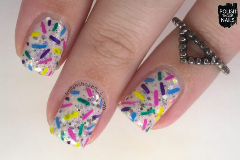nails, nail art, nail polish, sprinkles, polish those nails, indie polish