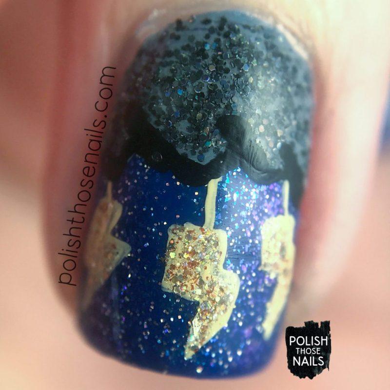 nails, nail art, nail polish, glitter, storm, polish those nails, macro