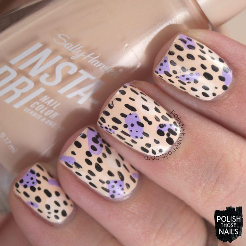 nails, nail art, nail polish, pattern, sally hansen, press sample, polish those nails, champagne supernova