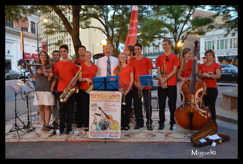 Czech Dixieland Jazz Youth Band