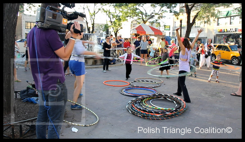 Hoola Hoops at Polish at the Triangle