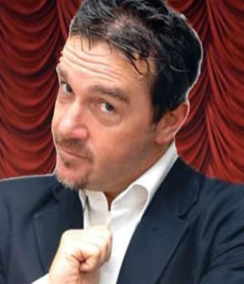 Il cabarettista Pierluigi Patimo