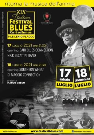 Locandina Festival Blues XIX edizione