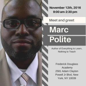Marc Polite To Be At ABENY Conference 2016 in Harlem