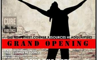 Street Corner Resources Headquarters Grand Opening in Harlem December 8th!