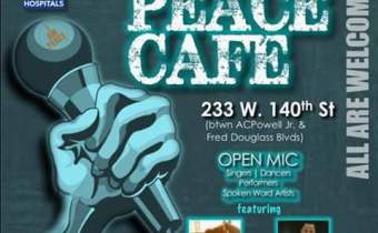 The Peace Cafe Open Mic- March 31st