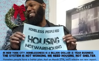 """Speak Out Against """"The Business of Homelessness"""" on March 21st"""