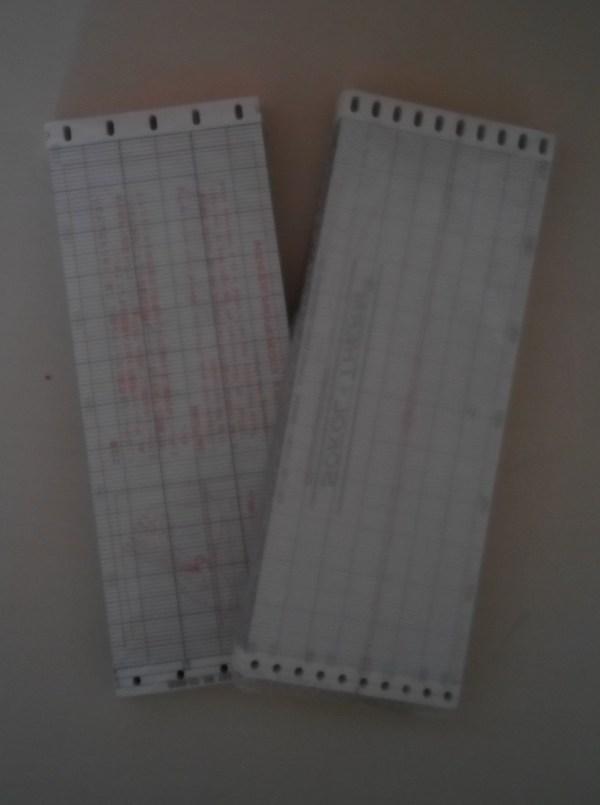 Складывающаяся диаграммная бумага