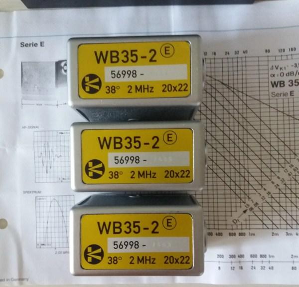 WB35-2 krautkramer