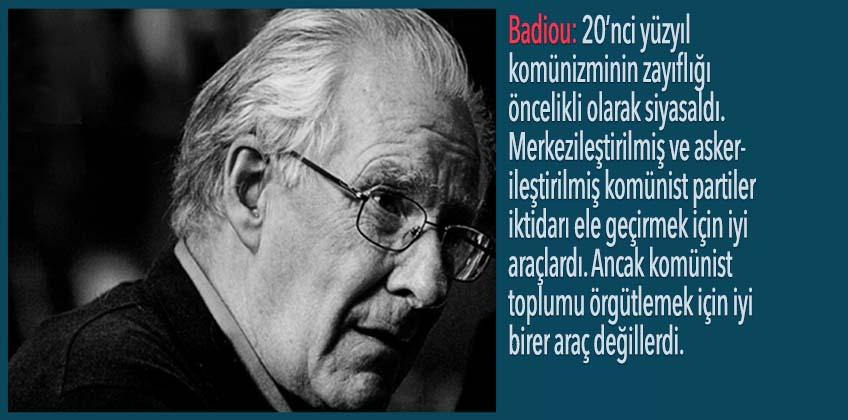 A. Badiou: Kapitalizmin sözde gücü yalnızca rakiplerinin zayıflığının bir yansıması