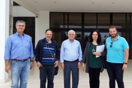 """Το ΙΤΕ και το τεχνολογικό πάρκο επισκέφθηκε η """"Ηράκλεια Πρωτοβουλία"""""""