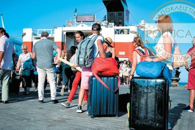 Έως και 12% ανέβηκε η τουριστική κίνηση στην Κρήτη