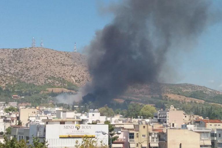 Φωτιά στο δάσος Χαϊδαρίου
