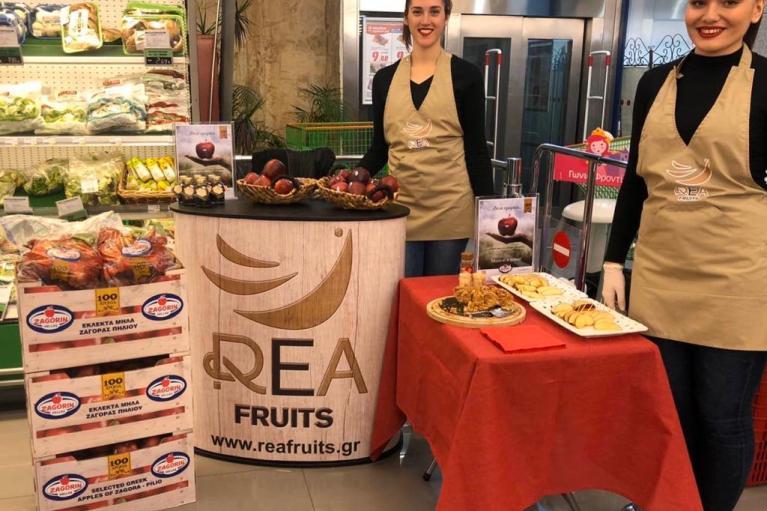 Τα μήλα ZAGORIN συνάντησαν τους πελάτες του S/M Χαλκιαδάκης ΜΑΧ