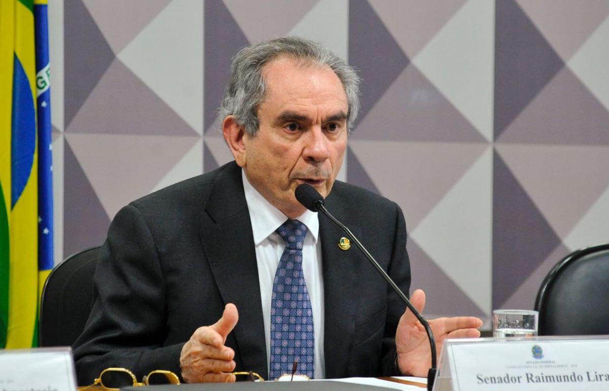 Raimundo Lira desiste de tentar se reeleger ao Senado e explica motivos