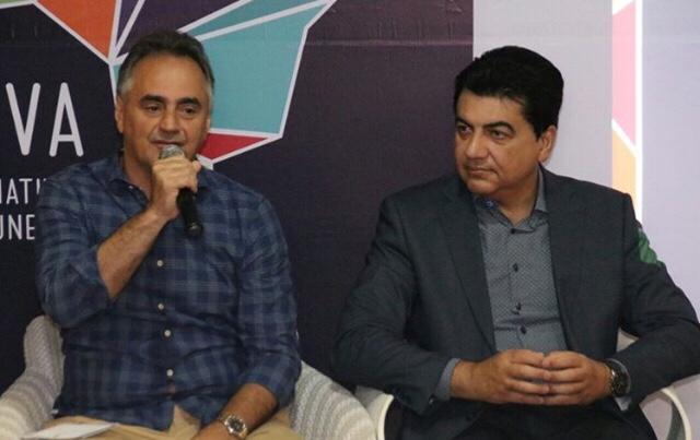 Manoel Jr e Cartaxo aparecem juntos; prefeito defende candidatura do irmão ao governo