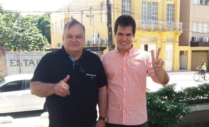 Walter Brito desiste de candidatura para apoiar filho