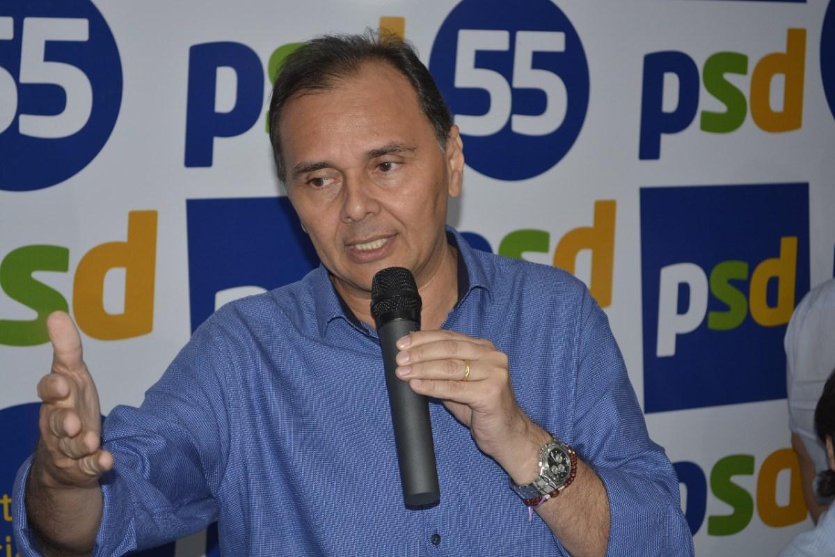 ÁUDIO: Ludgério propõe mudança pondo Eva como vice e Micheline para o Senado com o PV