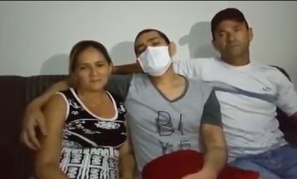 VÍDEO: Sem receber medicamento do Estado e do Laureano, paraibano faz vaquinha para escapar da morte e receber medula de doador