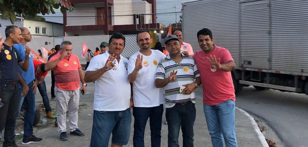 Vereadores do PSDB, PSD e PSL de Santa Rita aderem a João