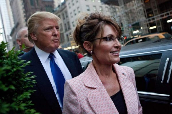 Trump Blames Russia's Election Interference On Sarah Palin 'Abandoning Her Backyard Post'