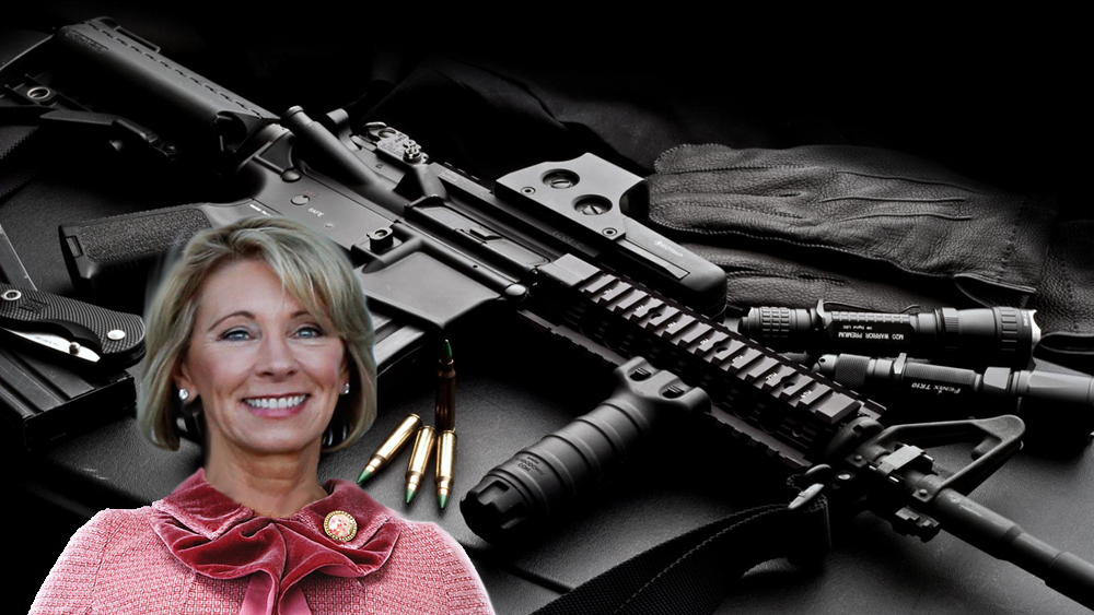 Betsy DeVos Not Sure How To Arm Teachers That Already Have Two