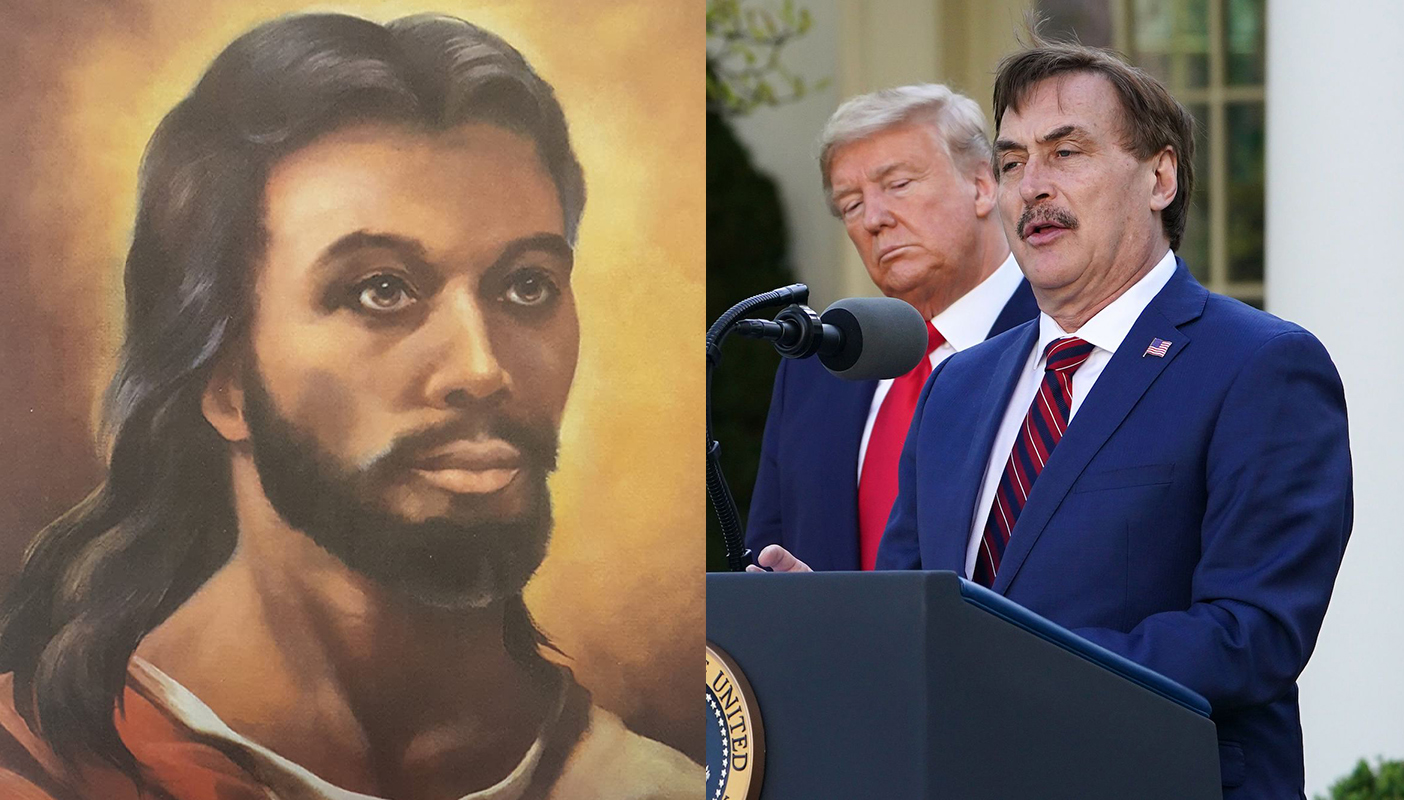"""Jesus Christ: """"Dude, What The Fuck's Up With The MyPillow Guy?"""""""