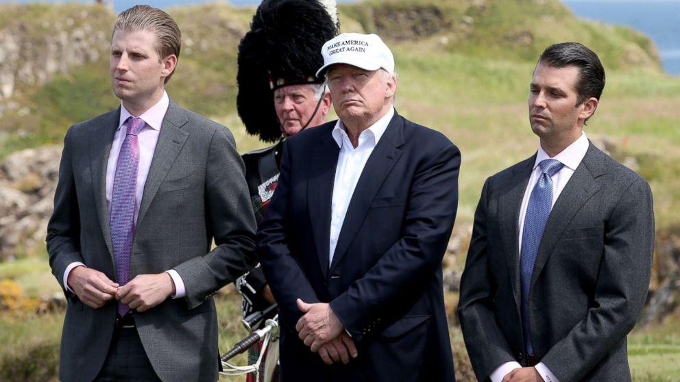 """Heartbroken Trump Boys Think They Have to Call Joe Biden """"Daddy"""" Now"""
