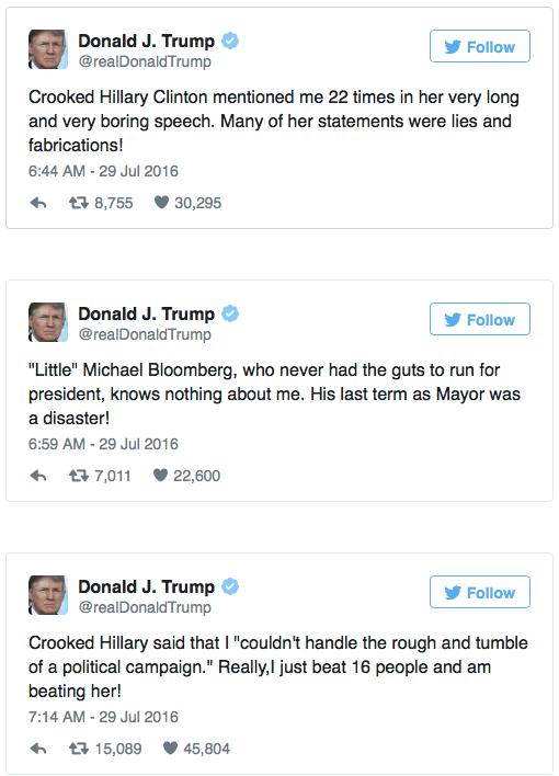 Trump name-calling