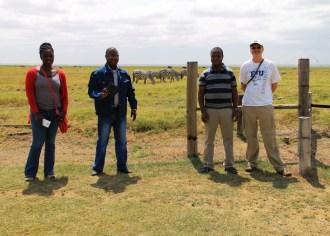 Doreen, Mbangu, William and John