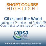 Short Course: Cities and the World