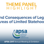Theme Panel: Causes and Consequences of Legitimacy in Areas of Limited Statehood