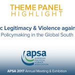 Theme Panel: Democratic Legitimacy & Violence against Women