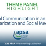Theme Panel: Political Communication in an Era of Polarization and Social Media