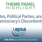 Theme Panel: Elites, Political Parties, and Democracy's Discontents