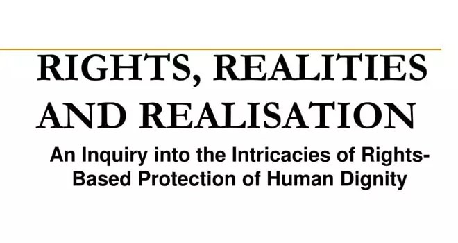 The Realisation Of Rights