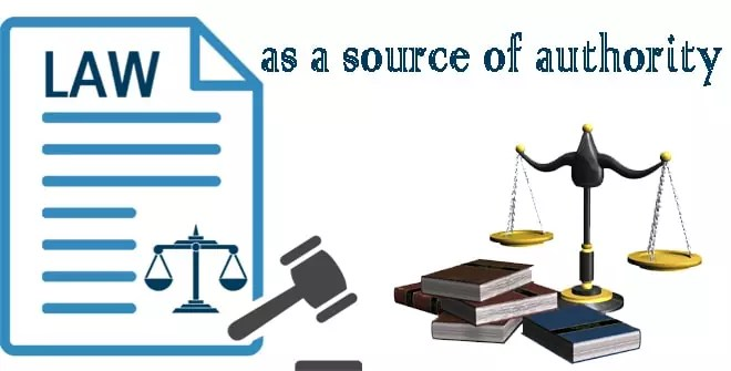 Law as a source of authority