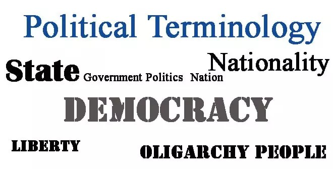 Political Terminology