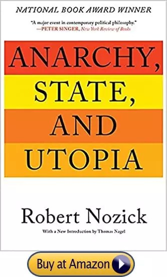 Anarchy, State, and Utopia Reprint Edition by Robert Nozick