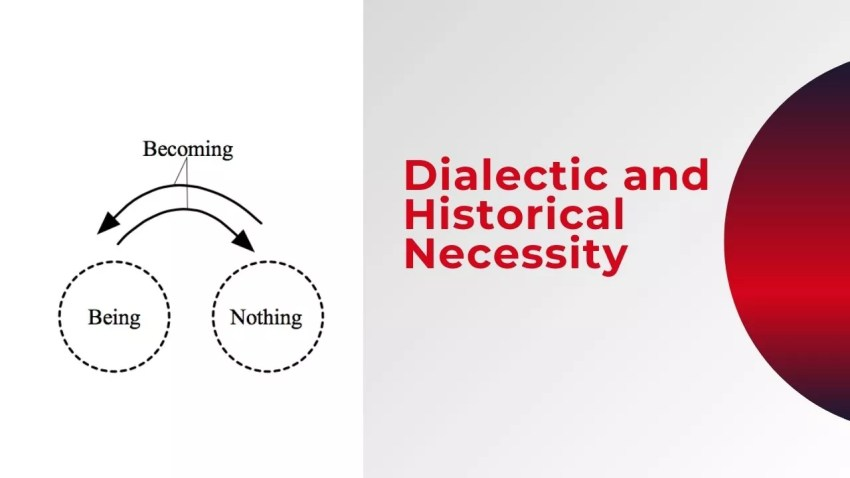 Dialectic and Historical Necessity