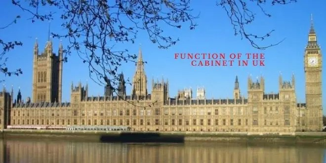 Function of the Cabinet in UK