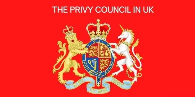 The Privy Council in UK
