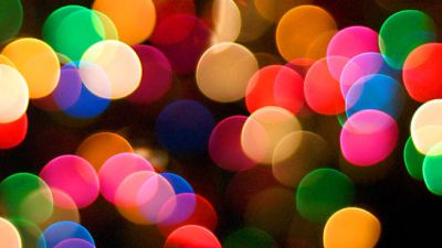 multi colored lights