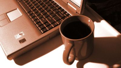 PC & Coffee Cup