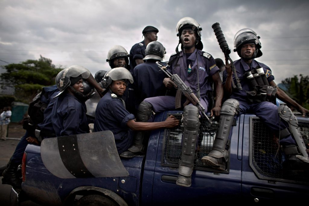 La Police annonce 14 interpellation durant des manifestations estudiantines à Kinshasa