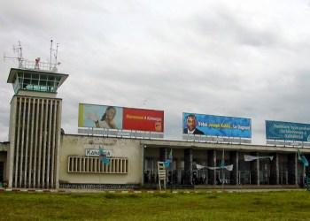 Affrontements près de l'aéroport international de Kananga