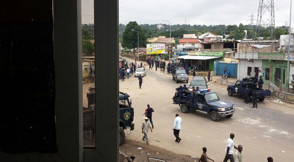 Déploiement policier massif à Ngaliema où la police y traque toujours les adeptes de Bundu dia Kongo