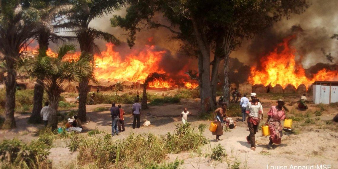 Est de la RDC: un incendie d'origine inconnue laisse 25000 personnes sans abris