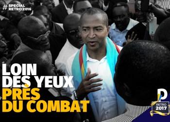 L'année de Katumbi: loin des yeux, près du Combat