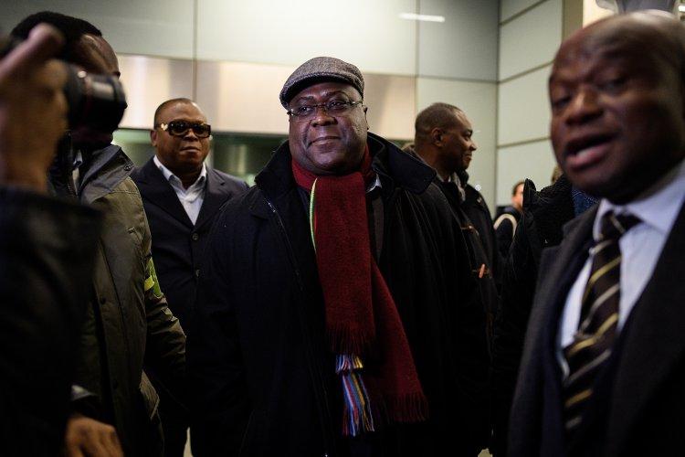 """Félix Tshisekedi n'a pas participé à la marche, """"retenu par son médecin"""""""
